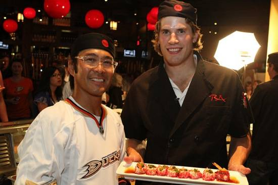 bodie at sushi contest