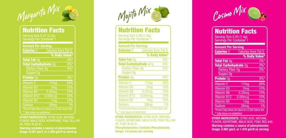 nutritions