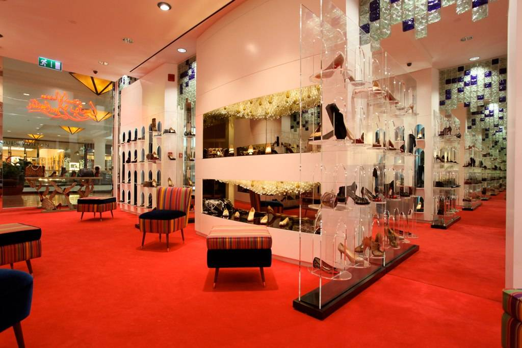 Christian Louboutin At Mall Of The Emirates Haute Living