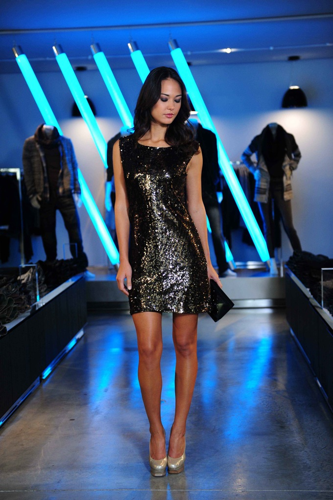 A|X Sequin Dress