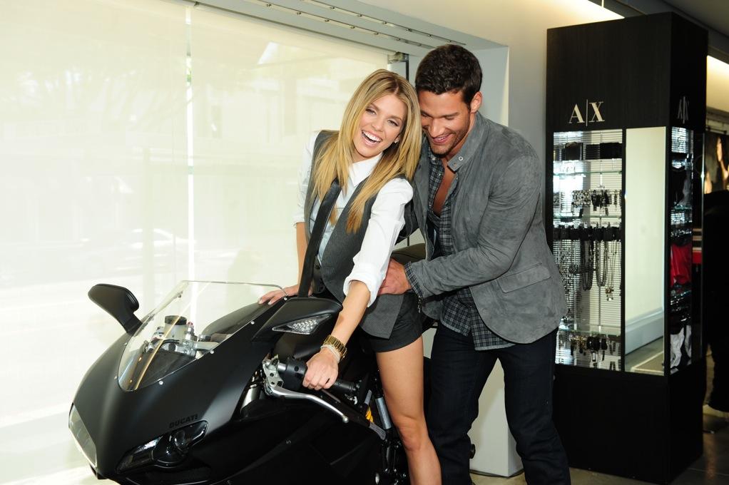 AnnaLynne StyleBRITY Motorcycle