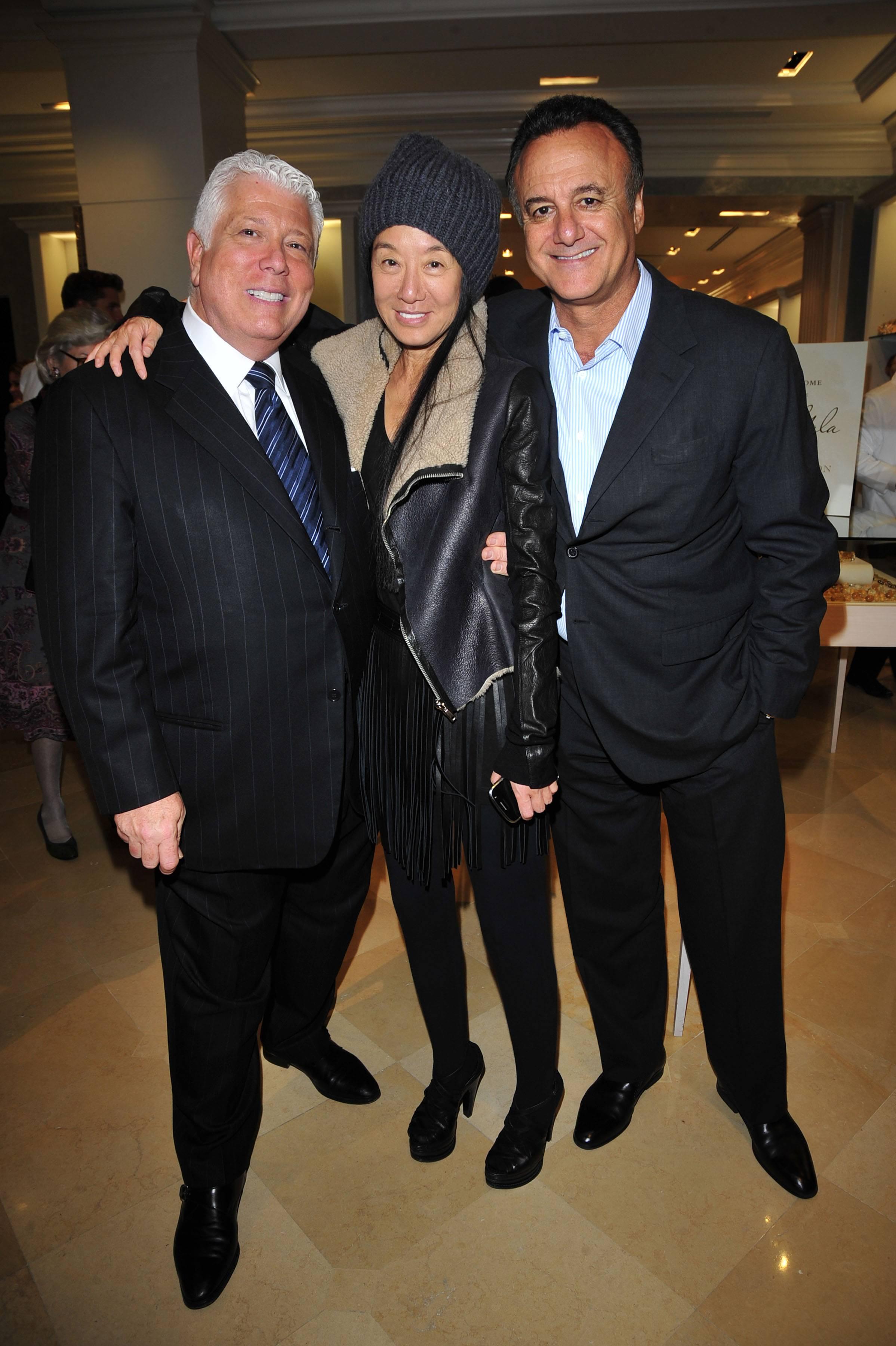 Dennis Basso, Vera Wang, Arthur Becker
