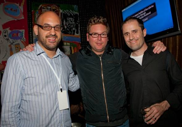 Jason Goldman (Twitter VP of Product), Biz Stone (co-Founder of