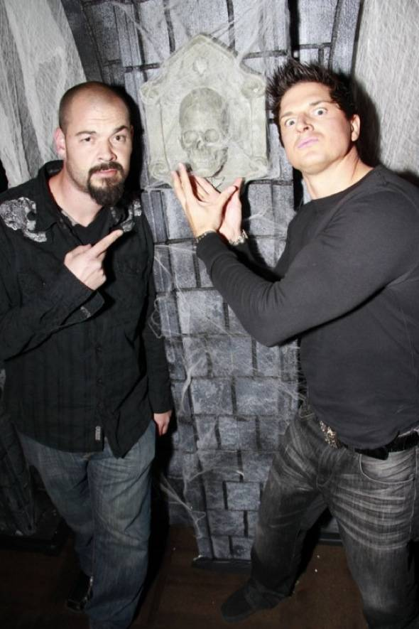 Haute Event Richard Grieco Zak Bagans And Aaron Goodwin