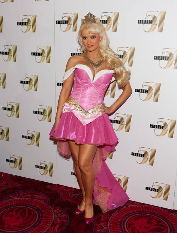 Holly Madison on Red Carpet at Studio 54, Las Vegas 10.30.10