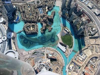 View Dubai from Burj Khalifa