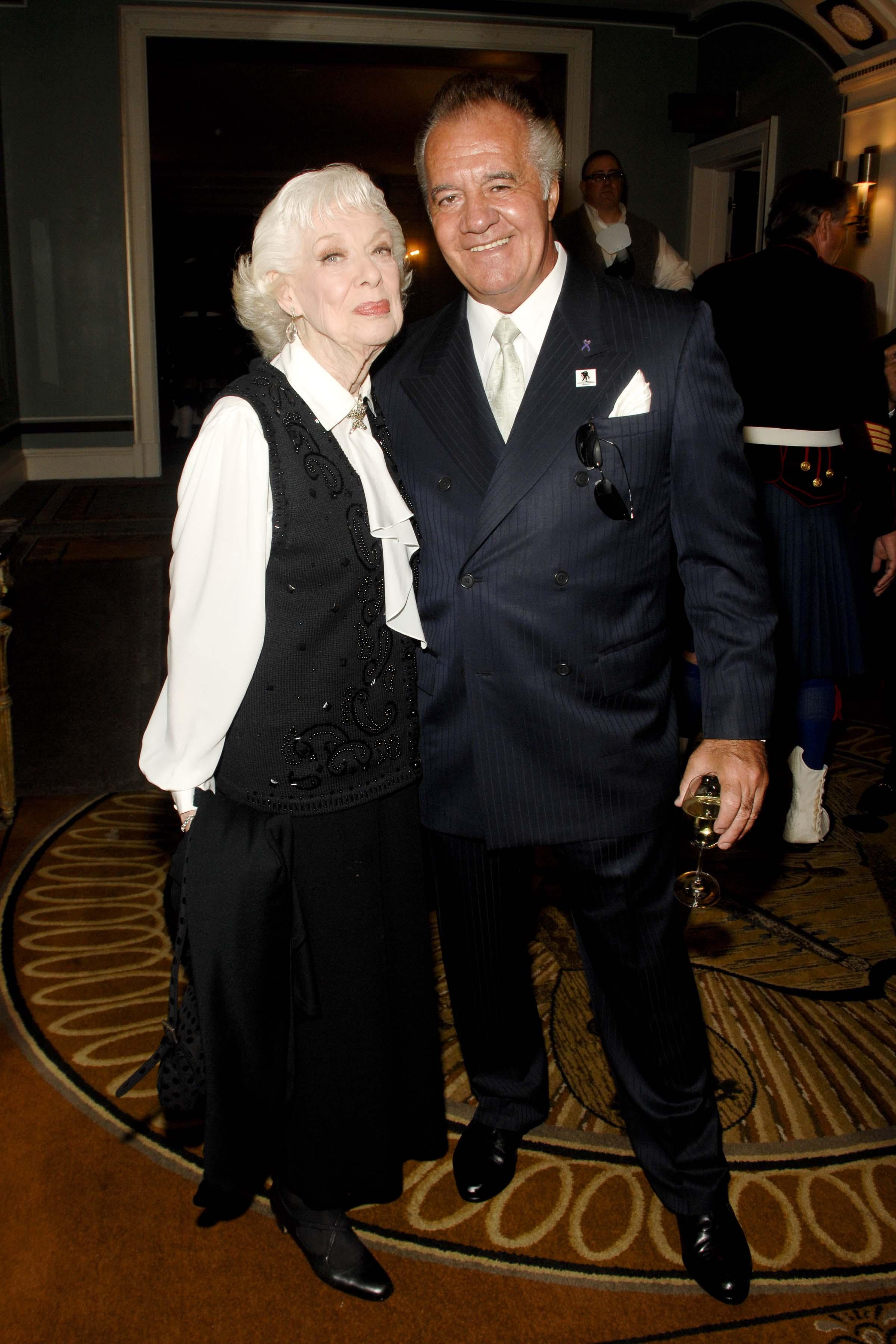 Joyce Randolph and Tony Sirico