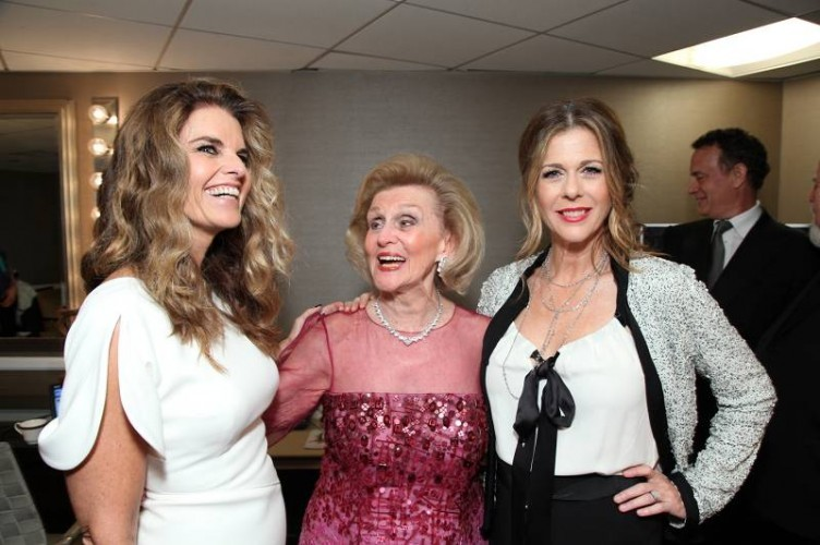 Maria Shriver, Davis and Rita Wilson attend the 2010 Carousel of Hope ball