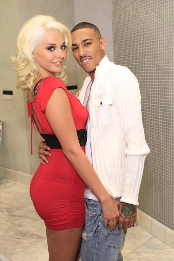 Kristina Shannon and TestMe at COLOR Salon in Las Vegas