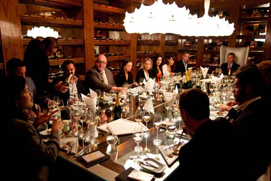 Krug luncheon at The Forge