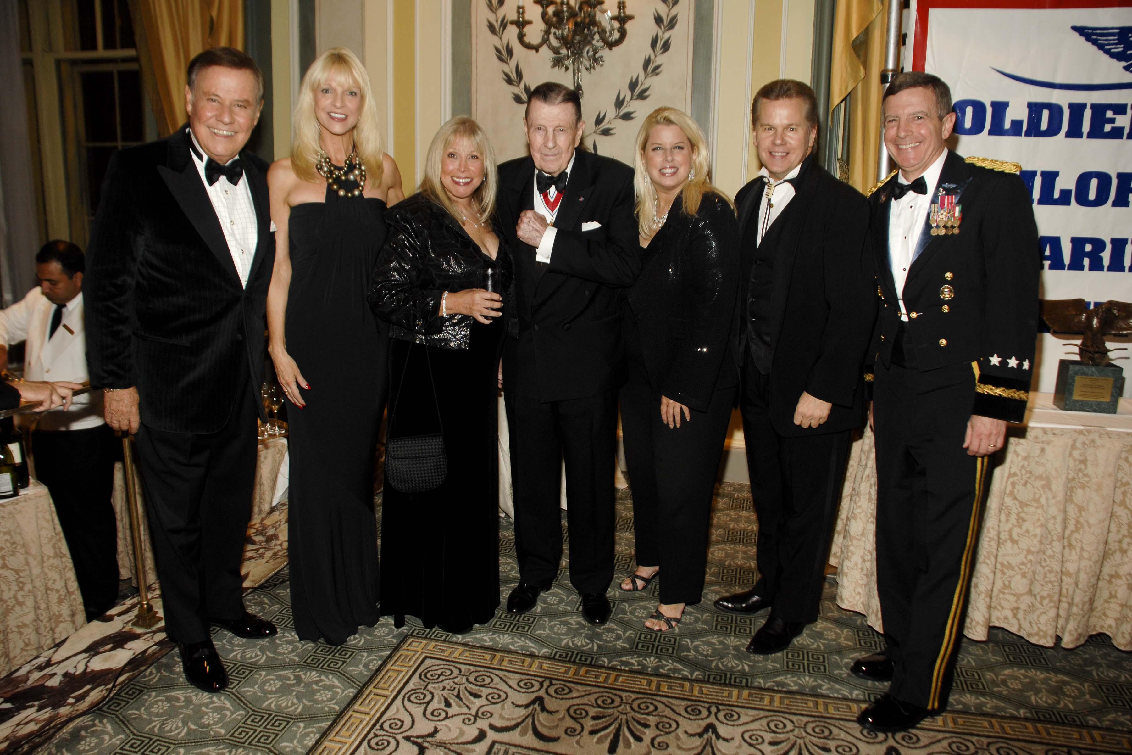 L to R Marvin Scott, Margo Catsimitidis, Lorri Scott, Ivan Oolensky, Rita Tomaczek Bednarek, General William J.Troy