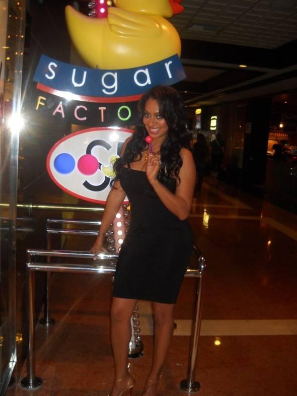 La La Vazquez at Sugar Factory