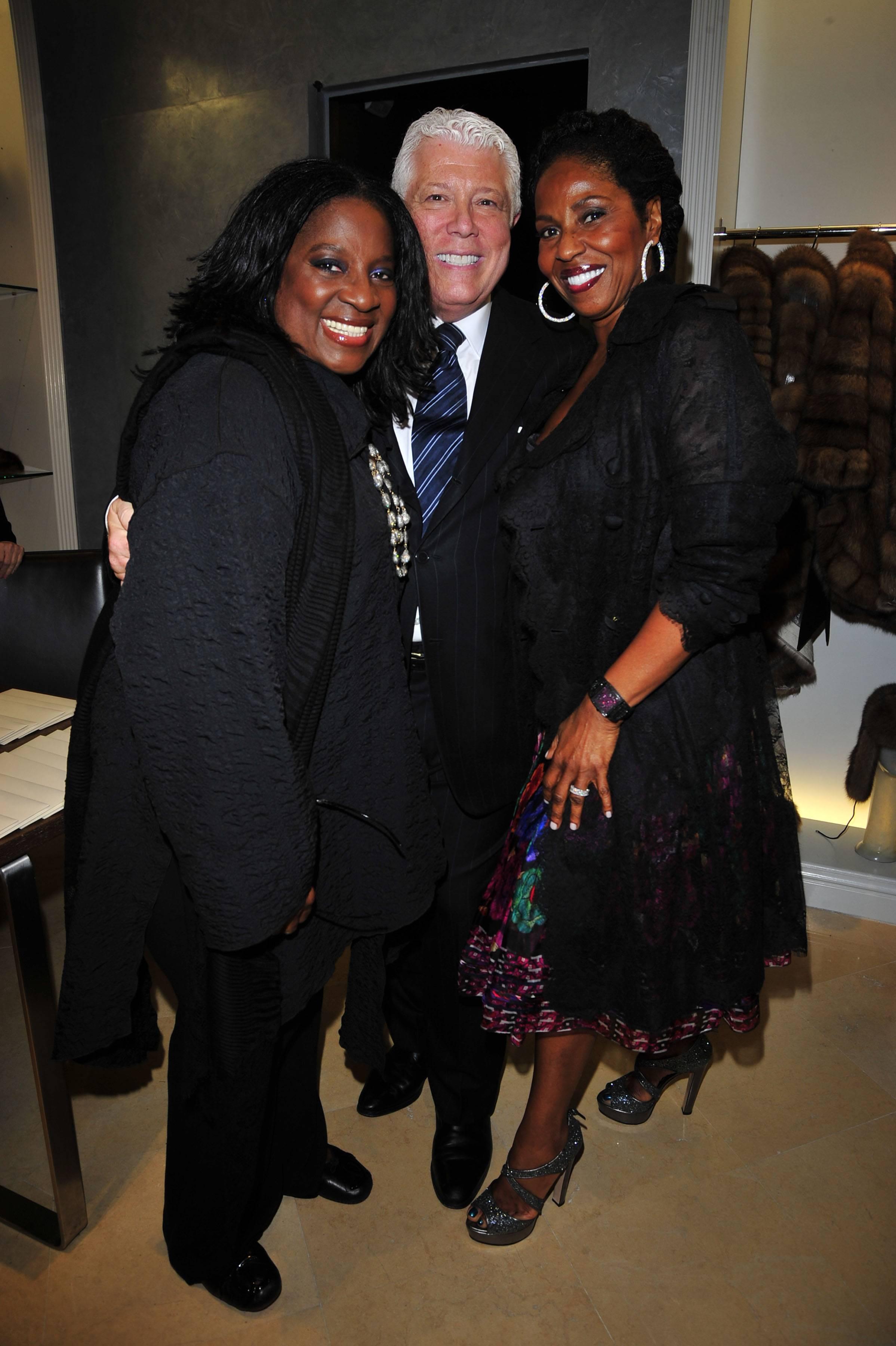 Latanya Jackson, Dennis Basso, Paulette Washington