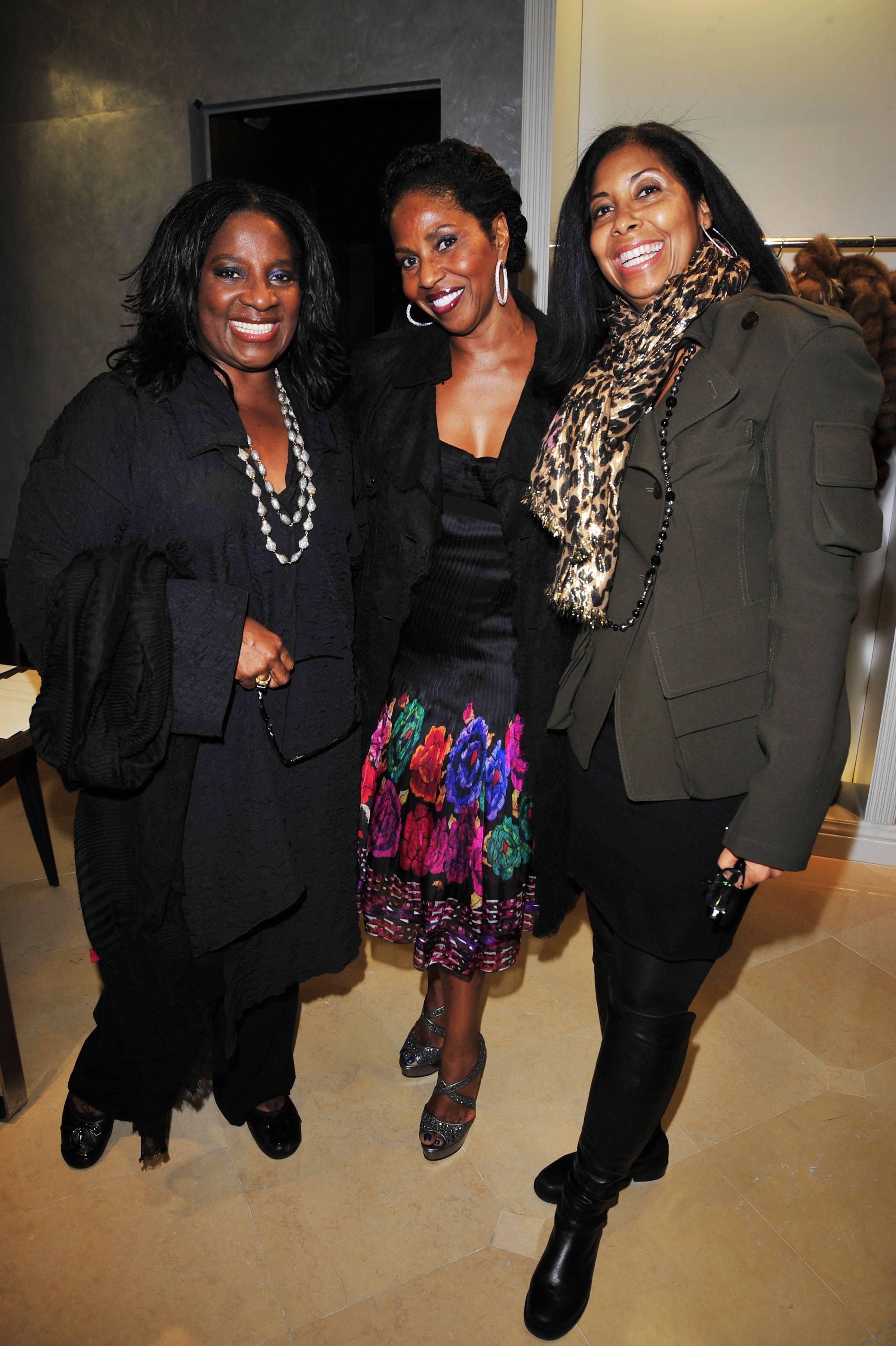 Latanya Jackson, Paulette Washington, Cookie Johnson
