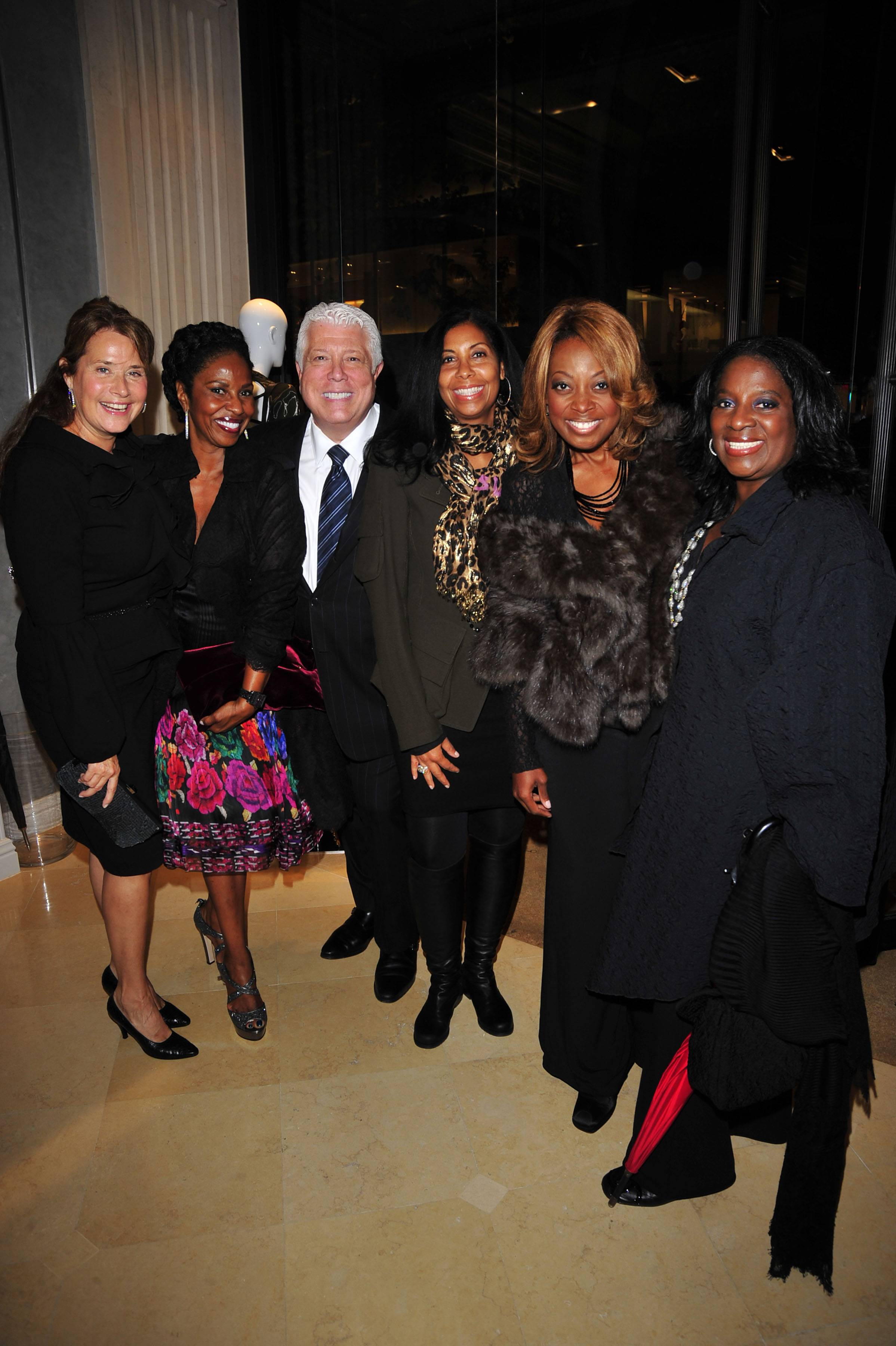 Lorraine Bracco, Paulette Washington, Dennis Basso, Cookie Johnson, Star Jones, Latanya Jackson