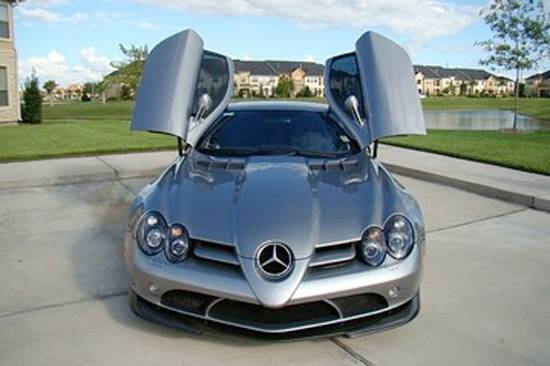 MJ's benz
