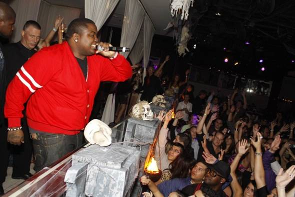 Sean Kingston performance_PURE Nightclub_10.29.10