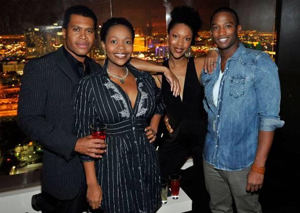 THE-LION-KING's-Derrick-Williams,-Buyi-Zama,-Kissy-Simmons,-Jelani-Remy-inside-miX-Lounge-Las-Vegas-10.22.10