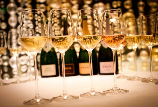 Krug tasting at The Forge