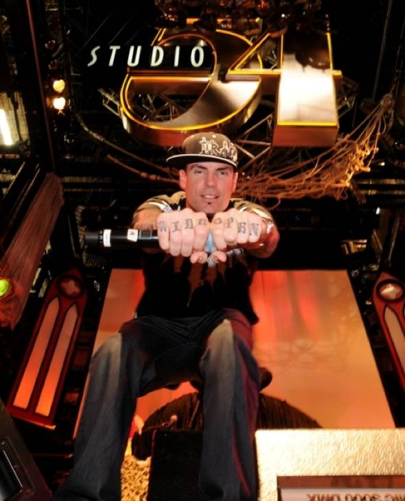 Vanilla Ice at Studio 54 Las Vegas 6, 10.29.10