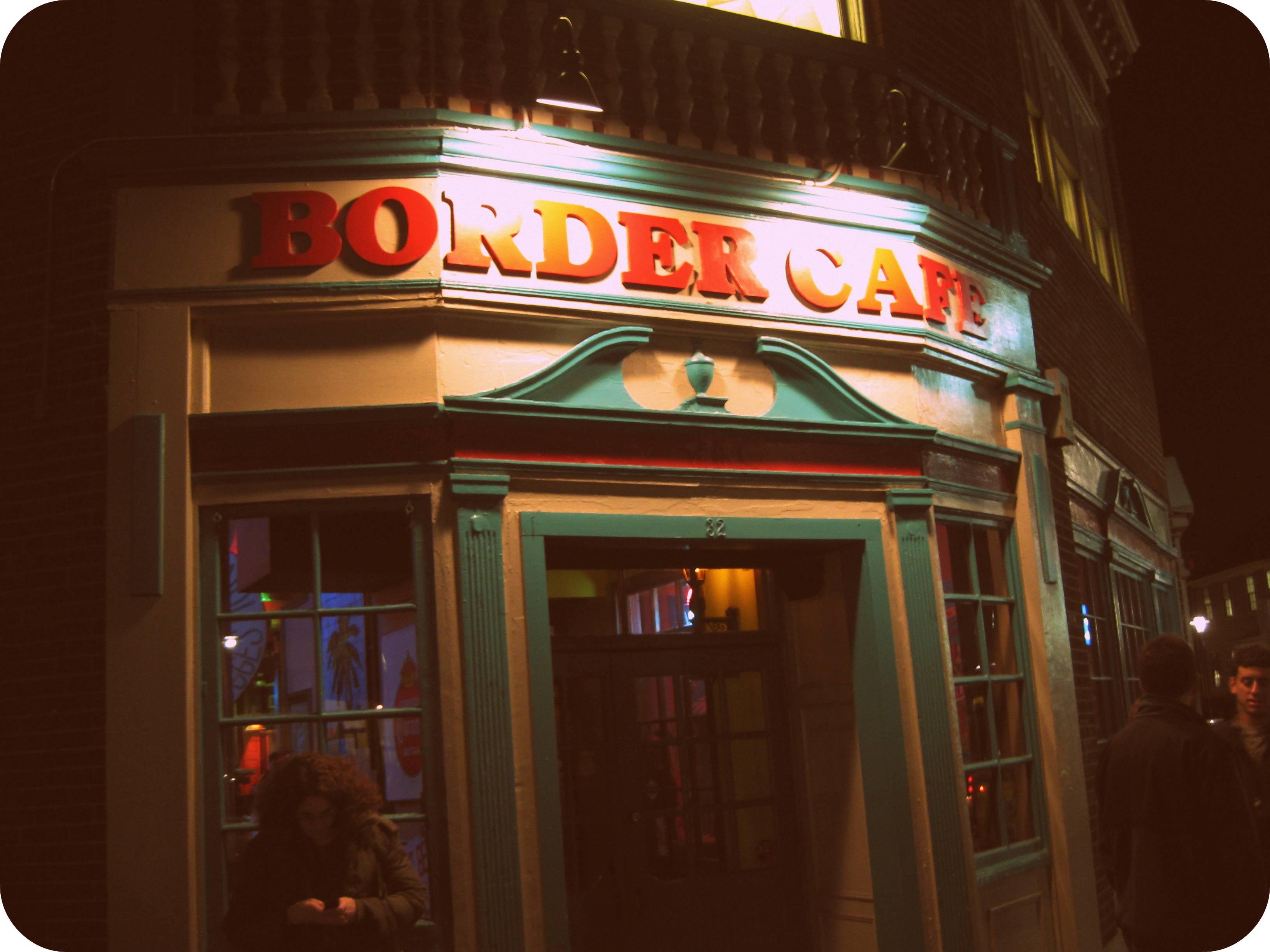 Kneeland St Cafe Menu