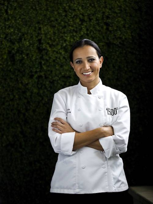 Chef Paula DaSilva (of Ft. Lauderdale's 3030 Ocean and Hell's Kitchen) is the new executive chef at 1500 of Eden Roc Miami Beach