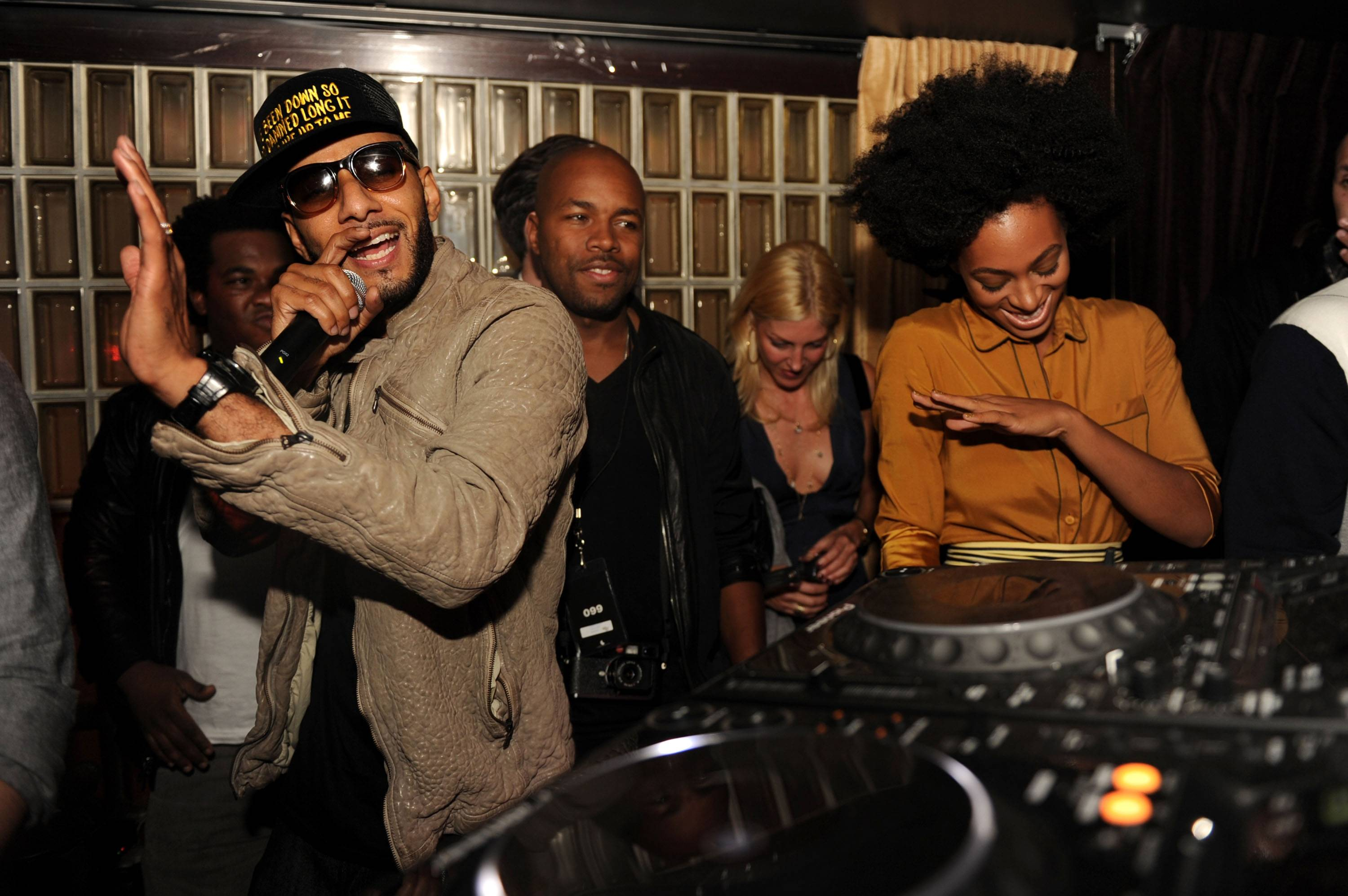 swizz beatz, solange knowles