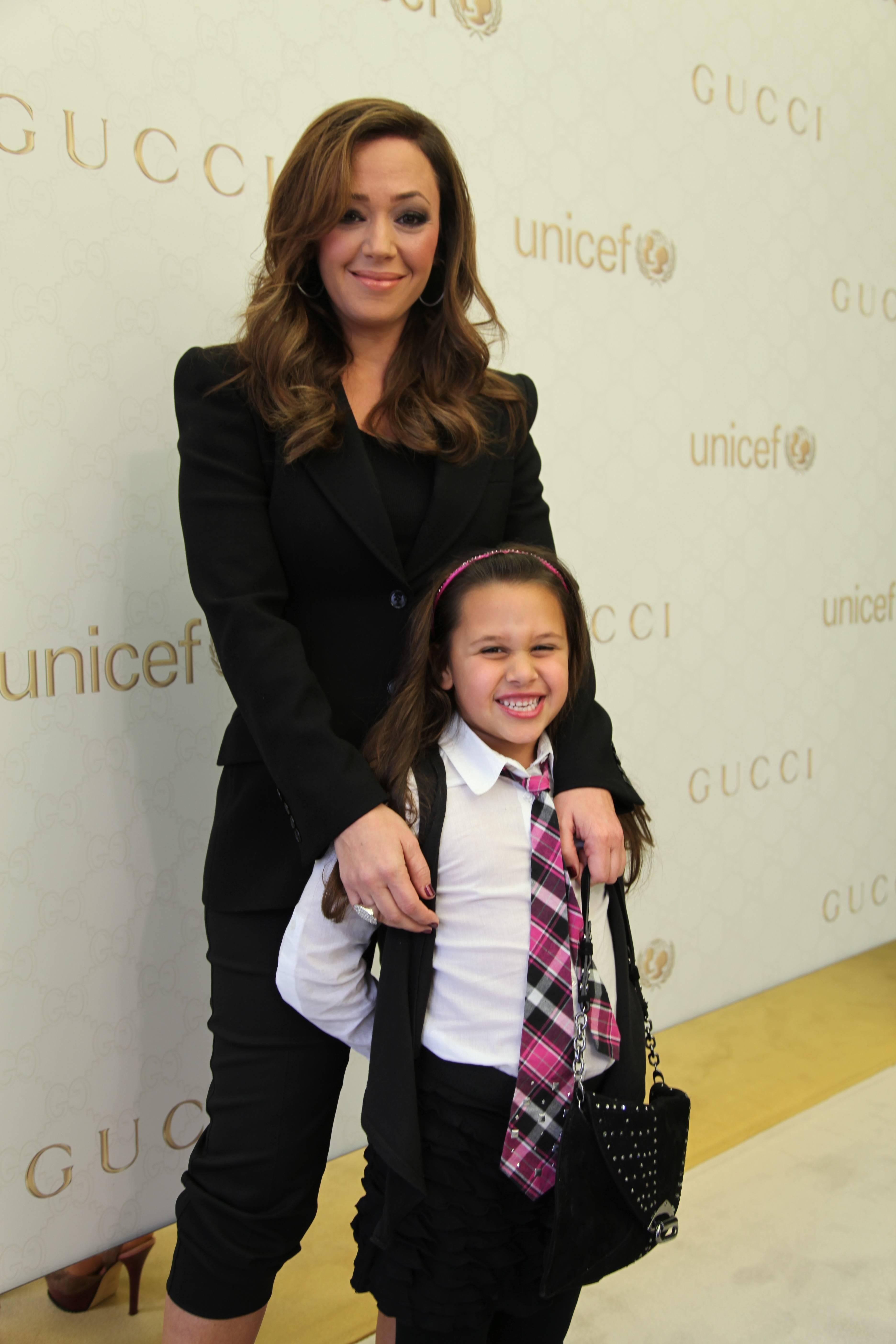 Leah Remini and daughter Sofia