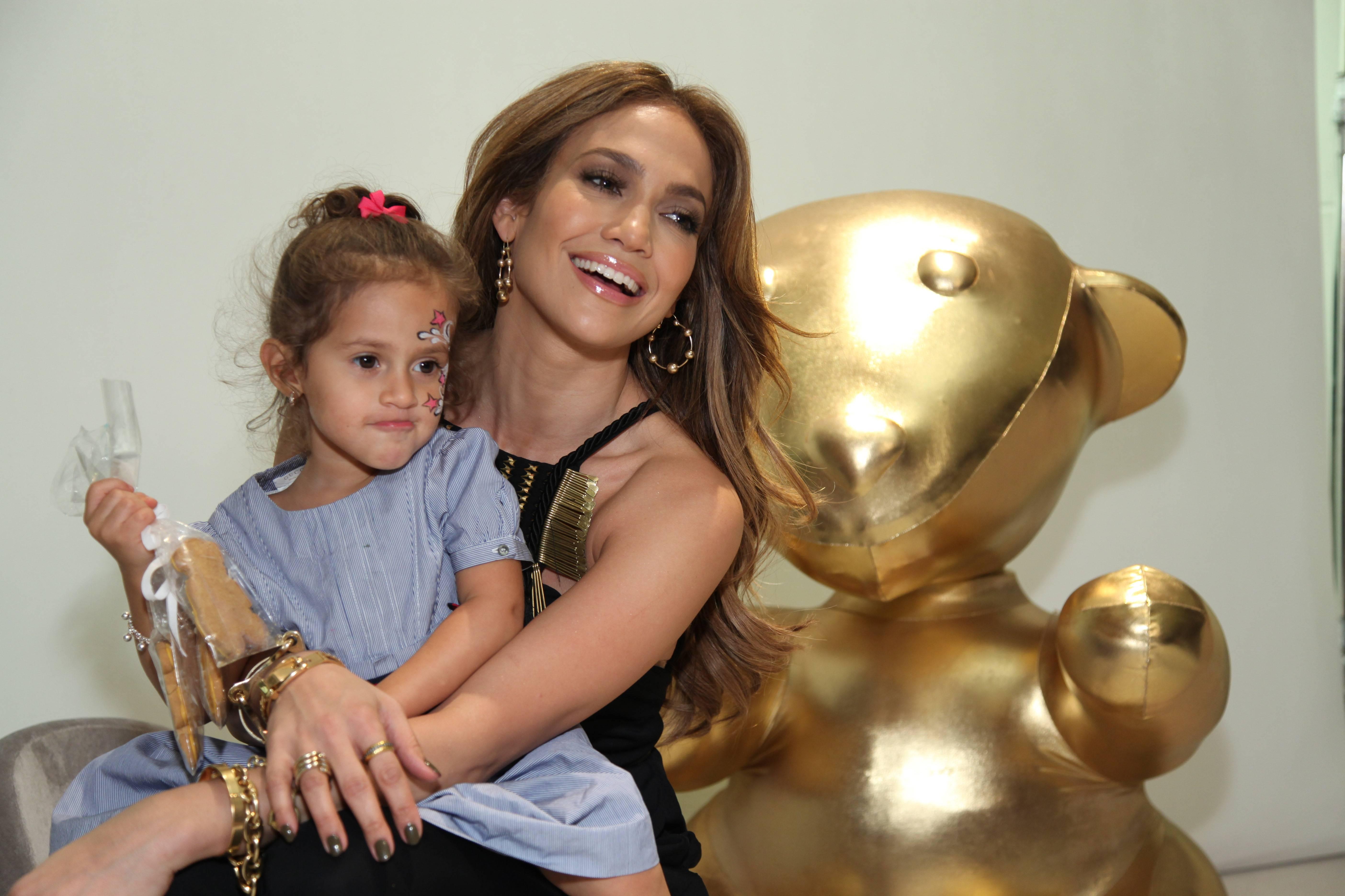 Emme Anthony and Jennifer Lopez