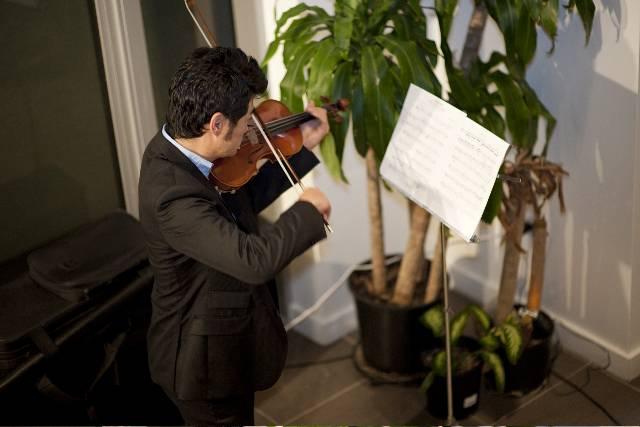 ART LEXING KIMONO OPENING EXHIBITION - Violin performance by Daisuke Yamamoto