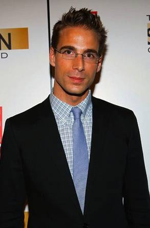 "Simon Huck attends the ""The Spin Crowd"" Season Finale party at Provacateur on October 6, 2010 in New York City."