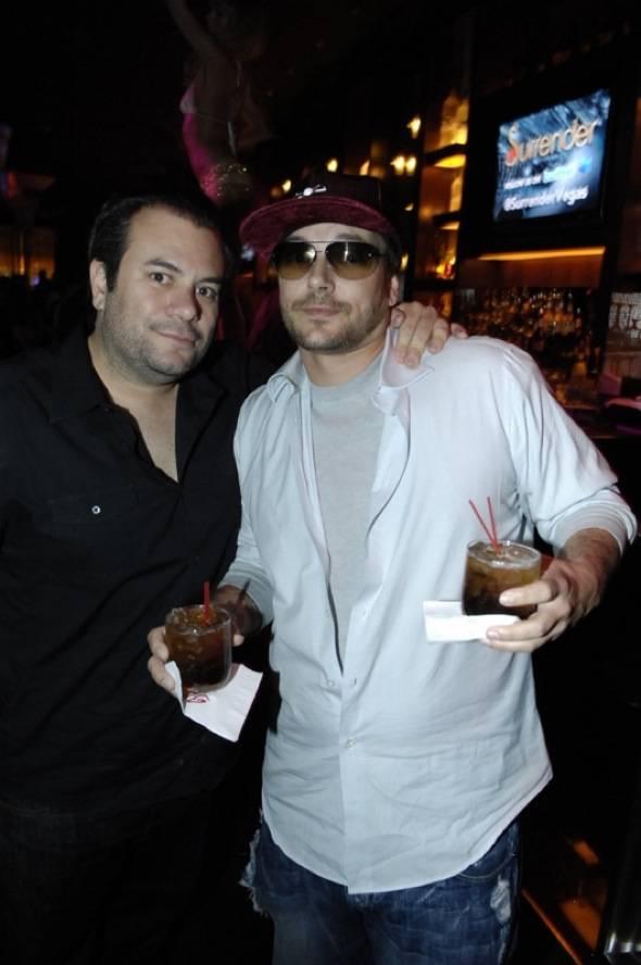 Brandon Roque & Kevin Federline at Blush