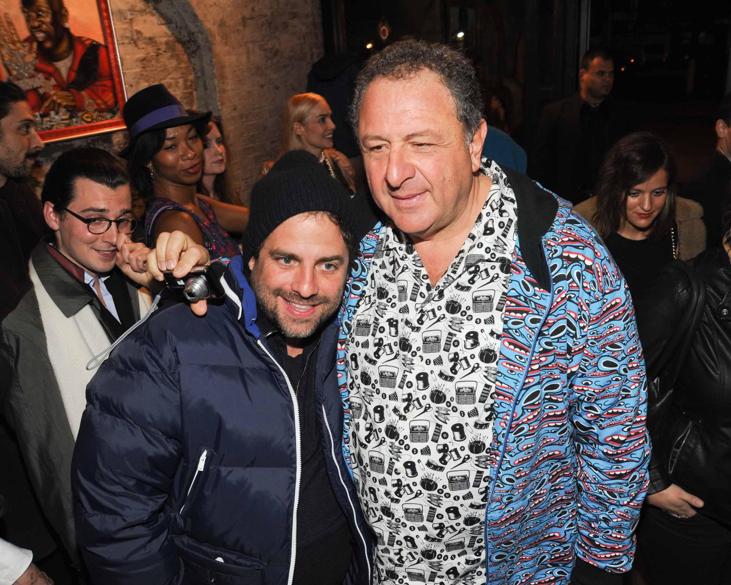 BrettRatner & JohnnyPigozzi