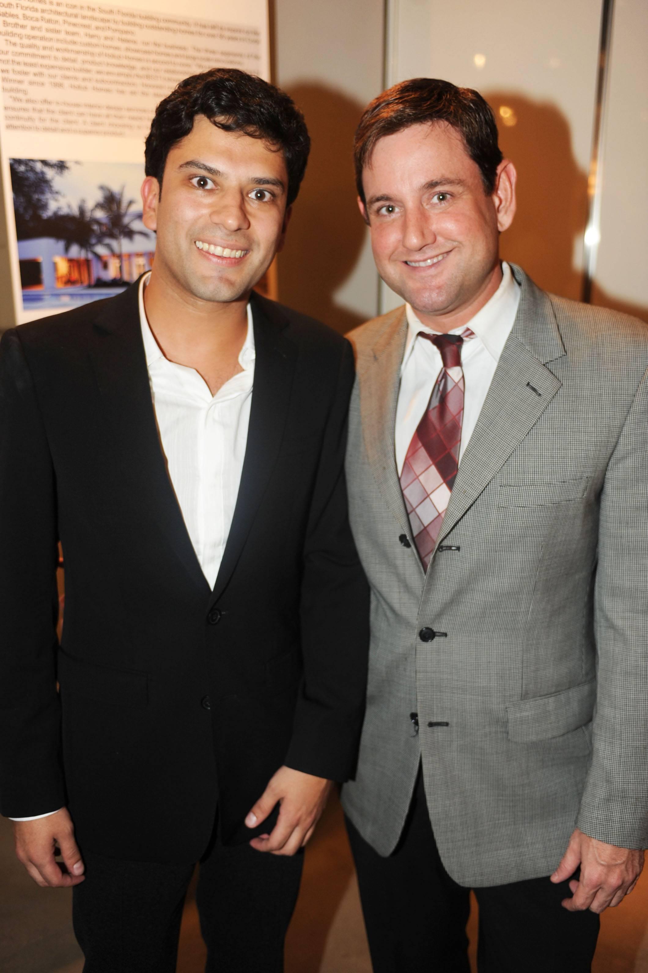 Claudio Faria & Michael Gongora