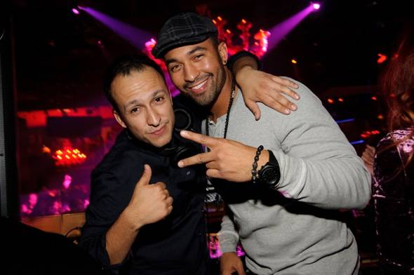 DJ Vice & Matt Kemp at TAO