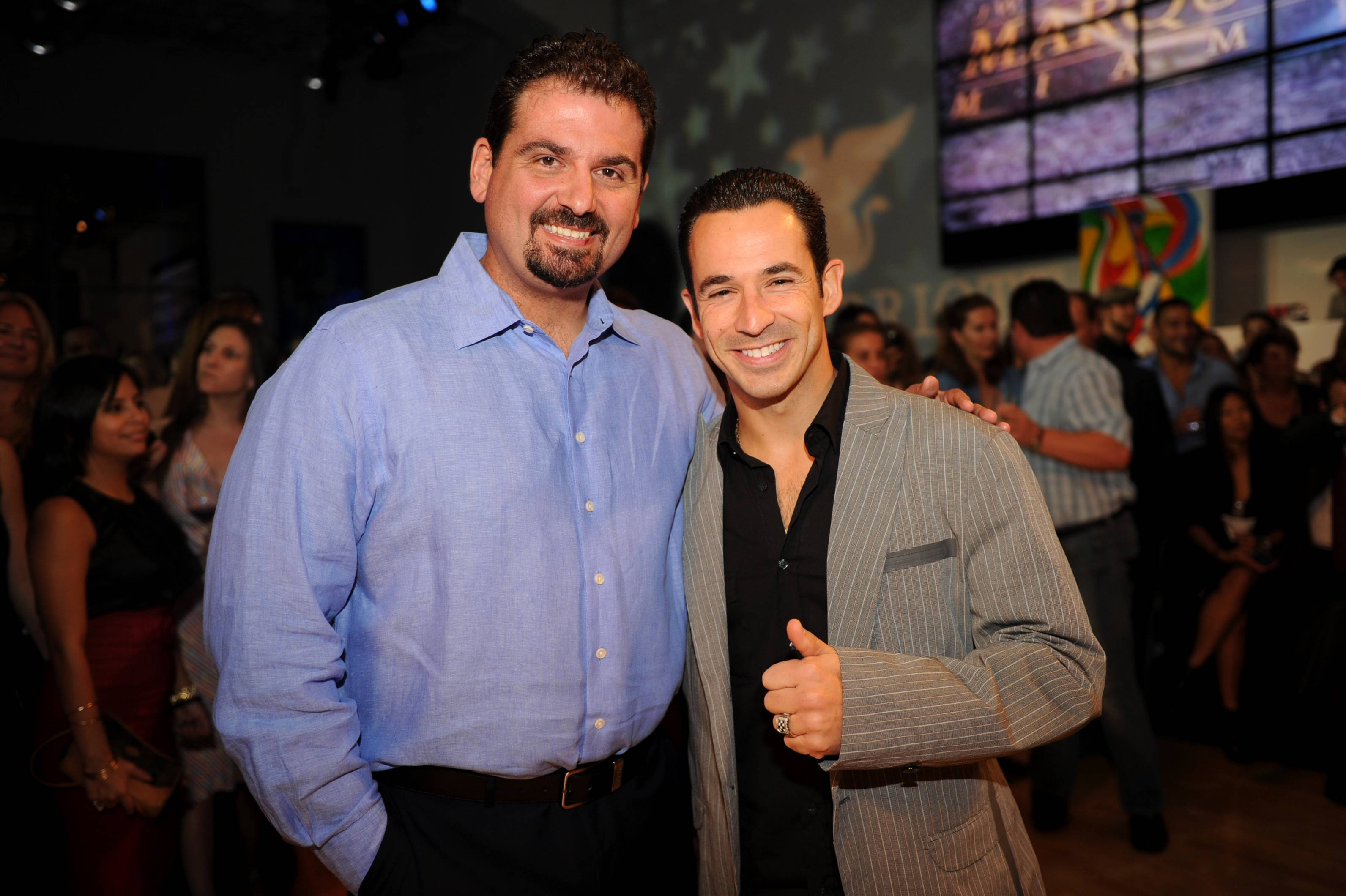 Dan Lebatard & Helio Castroneves
