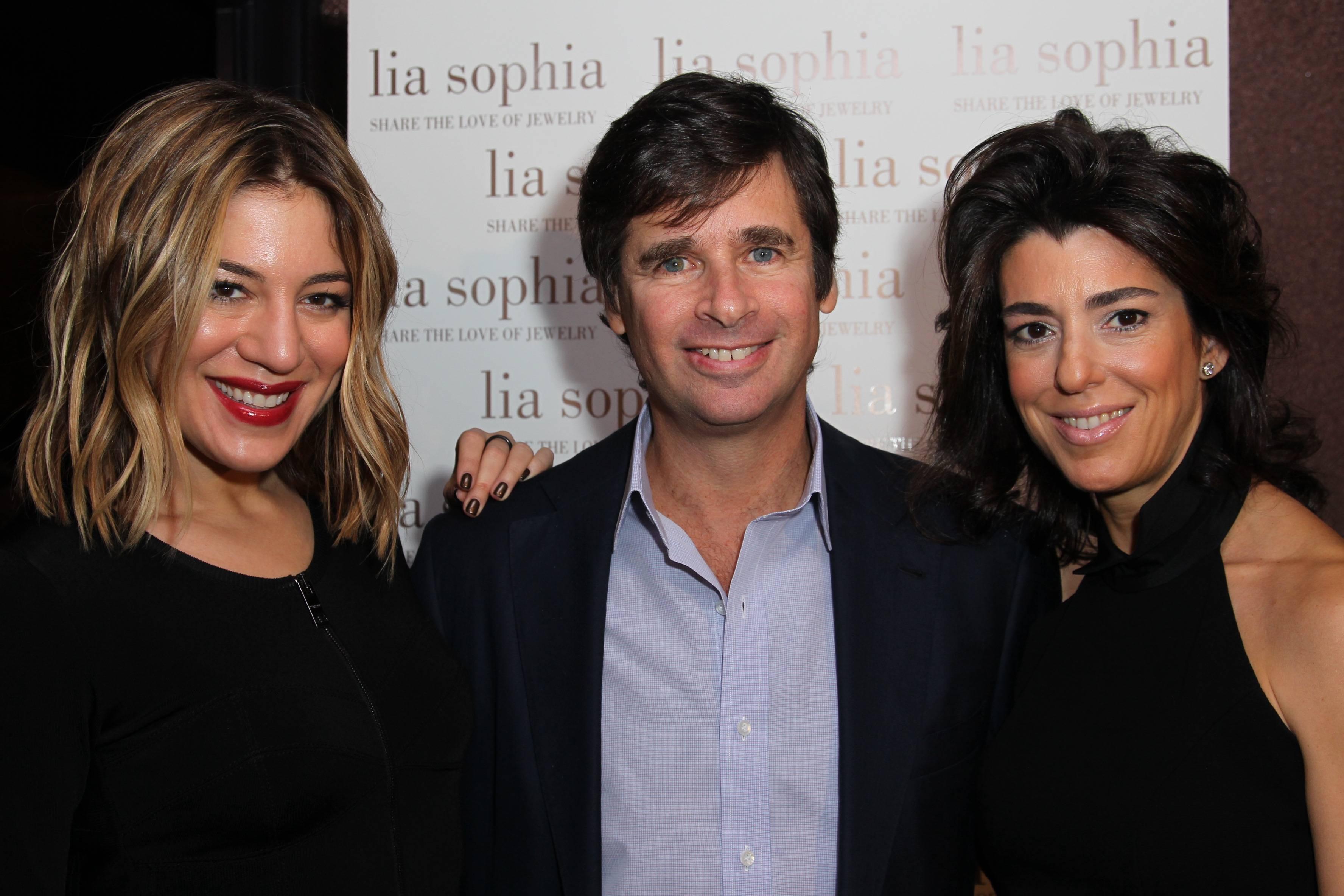 Dani Stahl, Tory Kiam and Elena Kiam
