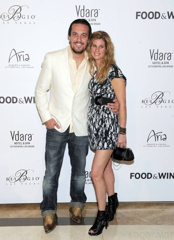 Fabio Viviani and Jennifer Carroll