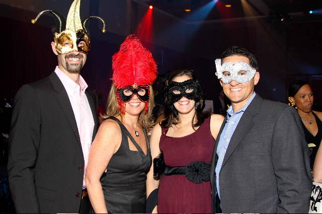 G - Josh and Lori Vajda, Melissa and Shawn Sackman Masquerade-23