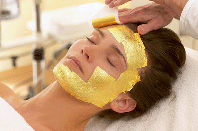 24-karat Gold Leaf Facial