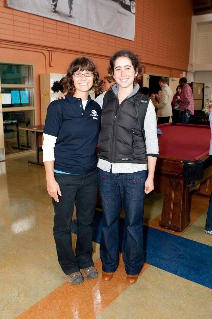 Iris-DeSerio-and-Madeleine-Vanengel-at-The-Edible-Schoolyard-at-Hunters-Point-Garden-Celebration