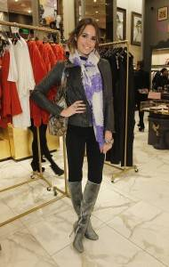Louise Roe attends Juicy Loves Glamour Girls by Erin Fetherston Launch hosted by Vogue at Juicy Couture on November 17, 2010 in Beverly Hills, California.