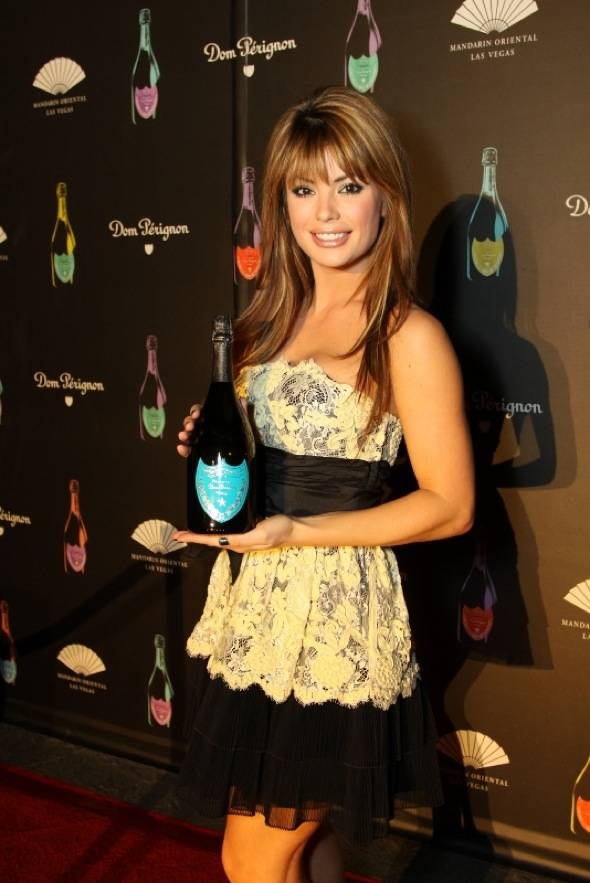 Mandarin Oriental, Las Vegas guest Laura Croft, co-star of E! Channel's Holly's World