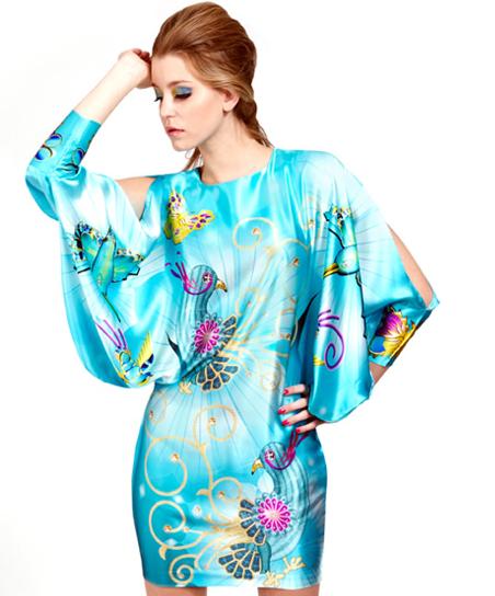 Mia Jafari-Scarf Dress
