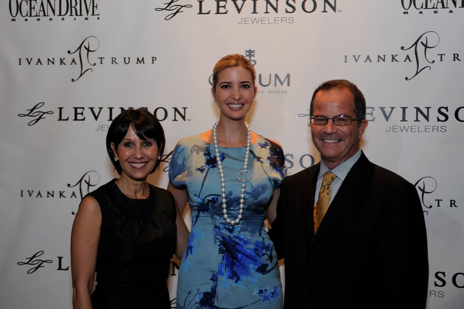 P1 -- Robin Levinson, Ivanka Trump and Mark Levinson