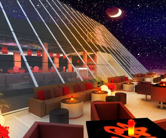 Red Lounge Raffles Dubai