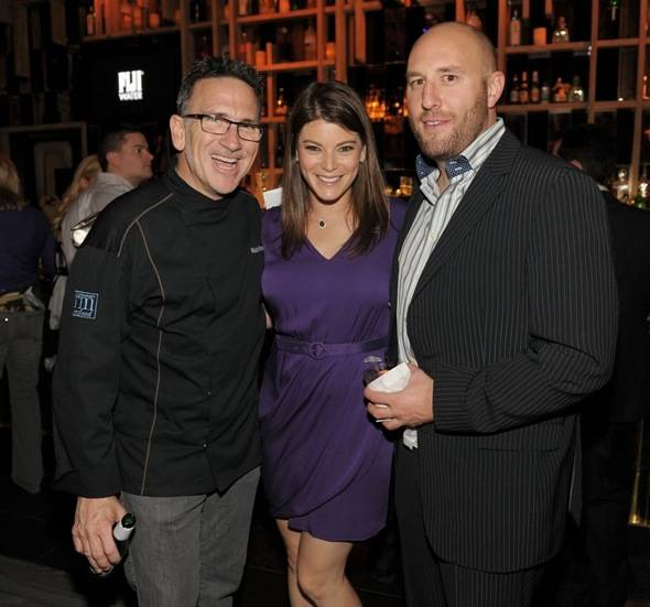 Rick Moonen, Gail Simmons and Hosea Rosenberg