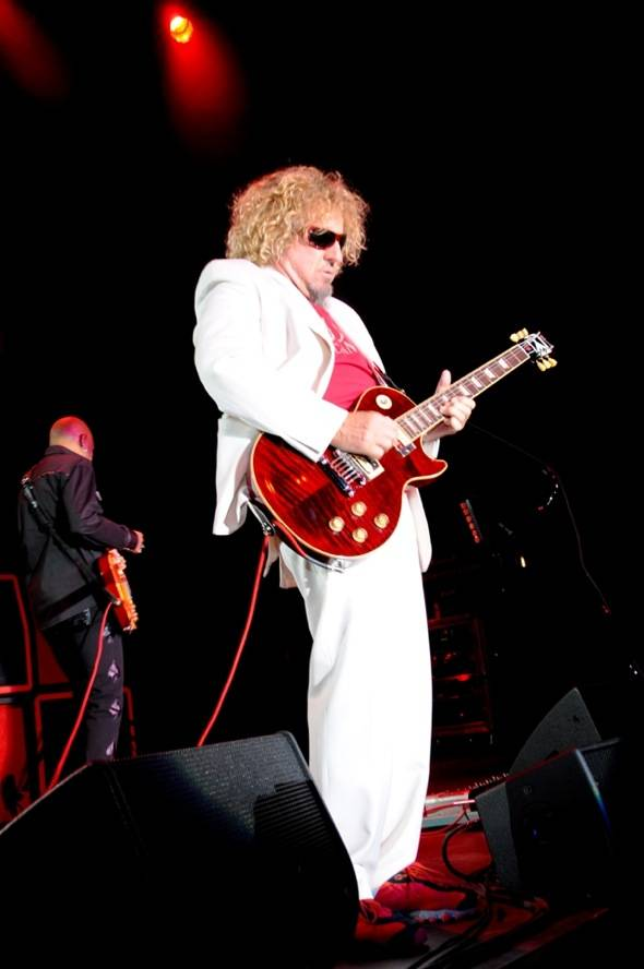 Sammy Hagar performs at Nevada Cancer Institute's Rock for the Cure Las Vegas, 11.11.10