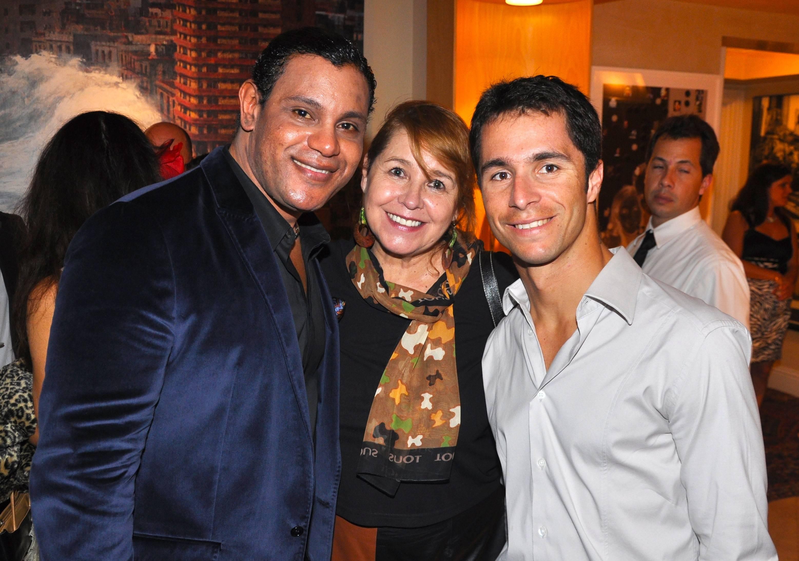 Sammy Sosa, Angelica Willard, Bruno Junqueria