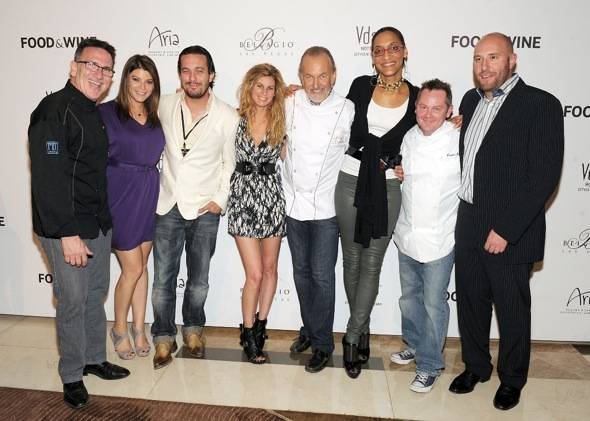 Top Chef and Top Chef Masters judge and cheftestants
